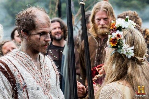 Tradición vikinga de intercambio de anillos
