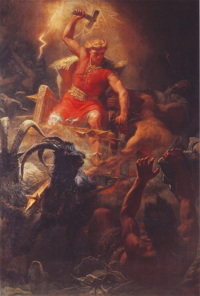Tor, hijo de Odín