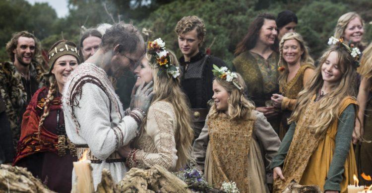 Boda de vikingos